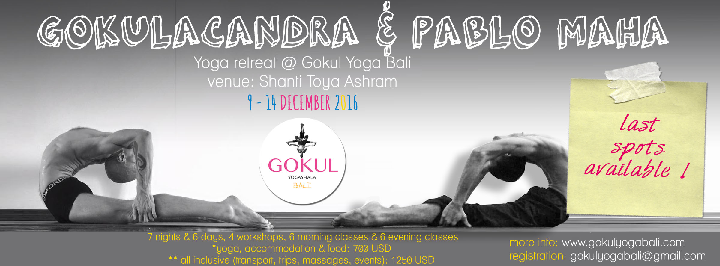 Gokulacandra Yoga Retreat in Bali